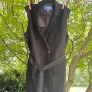 Vera Wang Sleeveless Jacket